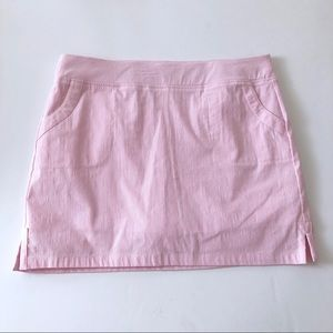 Crown & Ivy 🌸 tequila stripe skirt size 10 skort